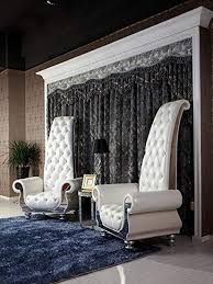 White italian furniture Expensive Image Unavailable Go Workout Mom Amazoncom Vig Furniture Divani Casa Luxe Neoclassical Pearl