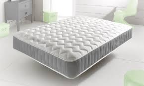 mattress uk. new grey memory foam topped sprung mattress 3ft 4ft 4ft6 double 5ft king uk q mattress uk r