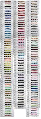 Paracord Bracelet Twist Color Chart