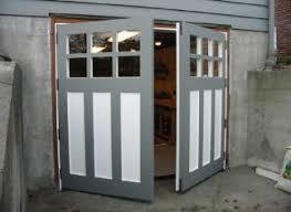 vintage garage doorsHandMade Custom Carriage Garage Door and REAL Swing out or Hinged