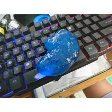 Combo 5 miếng dẻo dính bụi vệ sinh bàn phím máy tính/ laptop màu vàng
