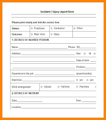 Incident Reporting Template Incident Report Sample Incident Report Sample In Nursing 57