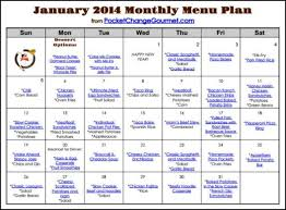Weekly Menu Weekly Menu Plan: January 13 Recipe | Pocket Change Gourmet