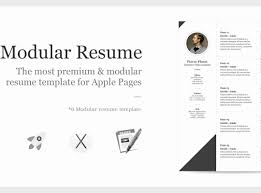 Apple Pages Resume Templates Extraordinay Appleges Resume Template