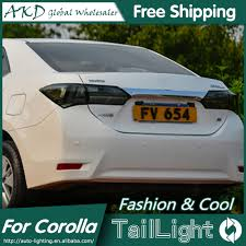 AKD Car Styling for Toyota Corolla Tail Lights 2014 New Corolla ...