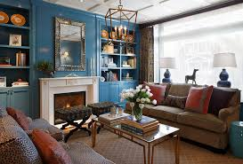 eclectic crafts room. Contemporary Eclectic Eclectic Blue Living Room On Crafts Room
