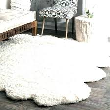 small sheepskin rug for chair faux area white rugs fur large braided cleaning