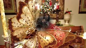Elegant Christmas Tree Decorating Elegant Christmas Table Top Decoration Ideas Youtube