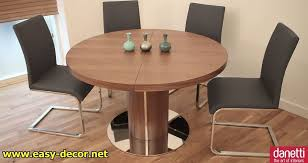 furniture best round dining table and 4 modern leather chairs set extending dining tables