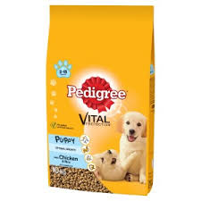Pedigree Puppy Medium Complete Dry Dog Food With Chicken And