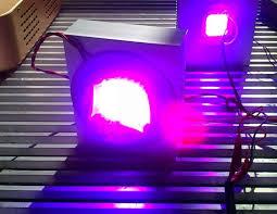 7band100w grow led lens heat sink aluminum cooling fan constant cur driver 100w diy led grow light kit