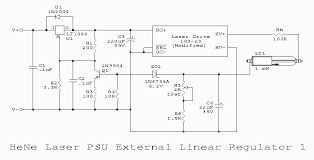 sam s laser faq hene laser power supply design the return for the hene laser tube current goes though a resistance variable from 1 5k to 3 5k ohms to ground this provides a voltage proportional to tube