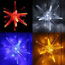 Details Zu Led Weihnachtsstern Licht Weihnachts Deko Fenster Led Polar Stern Leuchte Acryl