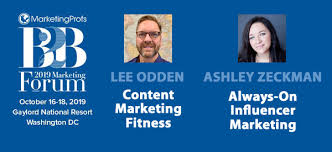 Learn How Always-On Influencer and Content Marketing Drives B2B Success  with Lee Odden and Ashley Zeckman at #MPB2B - Newsroom