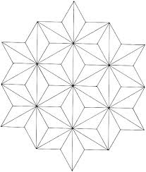 Geometric Color Sheets Easy Geometric Design Coloring Pages