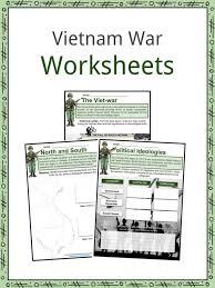 Vietnam War Facts Worksheets History Start End
