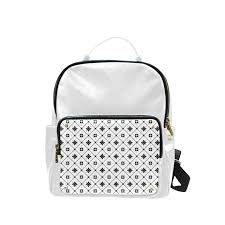 superstar luxury leather backpack