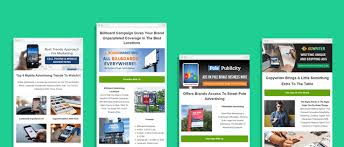 Ad Page Templates 15 Best Advertising Agencies Email Templates Ad Agency
