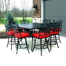 bar height patio table set bar height outdoor table counter height outdoor dining set bar height
