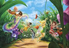 <b>Фотообои</b> фотошпалери Komar 8-466 <b>Disney Fairies</b> Meadow ...