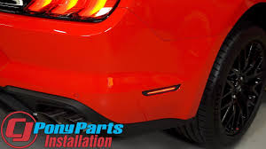 2014 Mustang Side Marker Lights 2018 Mustang Diode Dynamics Led Side Marker Light Smoked Rear Pair Installation