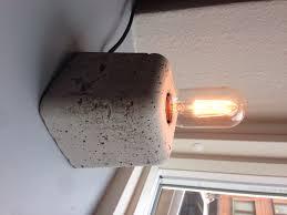 homemade lighting ideas. Beautiful Corner Wall Lamp New Diy Concrete Homemade Lighting Ideas Pinterest With P