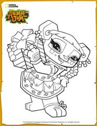 Small Picture Animal Jam Coloring Pages The Daily Explorer Classroom