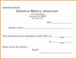 School Excuse Template Excellent Doctor Excuse Template For Work Ulyssesroom
