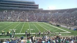 Notre Dame Stadium Section 25 Rateyourseats Com