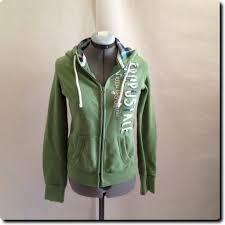 aeropostale signature green hoo jacket coat outerwear m 9 75