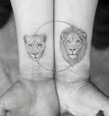 lioness tattoo.  Tattoo Couple Lion U0026 Lioness Tattoo Inside Lioness Tattoo T