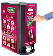 Coffee Vending Machine Premix Powder Enchanting Coffee Vending Machine Coin Operated Coffee Vending Machine
