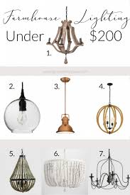 ping for a modern farmhouse chandelier i ve rounded up 7 chandeliers under 200