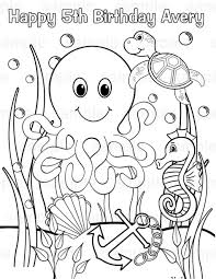 Small Picture Underwater animals coloring pages