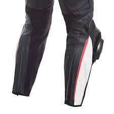 Dainese Delta 3 Leather Motorcycle Pants