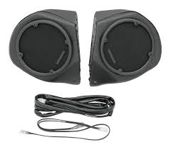 hogtunes rear speaker pods for harley touring 1998 2013 revzilla
