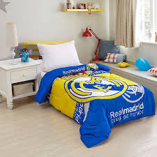 single size blanket cartoon real madrid for children 11street malaysia comforters blankets throws