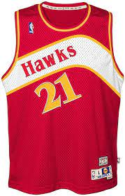 Amazon.com: Dominique Wilkins Atlanta Hawks Red Youth NBA Hardwood Classics  Swingman Jersey (Small 8): Clothing