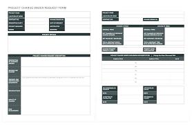 Construction Change Order Form Impressive Project Submission Form Template Project Submission Form Template