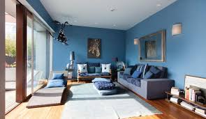 Living Room Blue Blue Living Room Breakingdesignnet