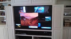 panasonic tv 60 inch. 60 inch panasonic running apple tv tv