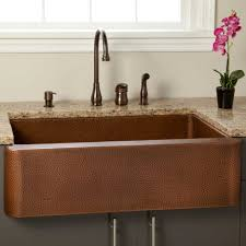 Granite Single Bowl Kitchen Sink Kitchen Antique Copper Sink Kitchen Design With Brown Single