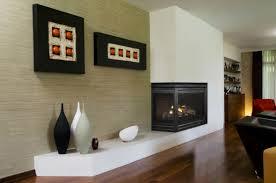 image of awesome corner gas fireplace