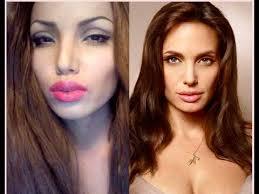 angelina jolie make up transformation