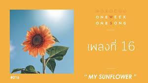 One Week One Song – เพลงที่ 16 [ My Sunflower ]