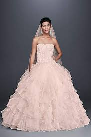 pink wedding gowns. Pink Wedding Dresses Gowns Davids Bridal