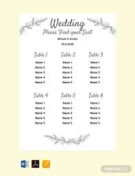 Best Way To Do Wedding Seating Chart 14 Best Wedding Seating Chart Examples Templates