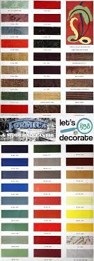 Formica Catalog From 1938 50 Colors And Designs 12 Pages