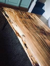 Neu Epoxy Tisch Leben Rand Spalted Buche Harz Couchtisch Etsy