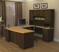 home office computer desk furniture. Bestar Manhattan U-Shaped Desk Home Office Computer Furniture T